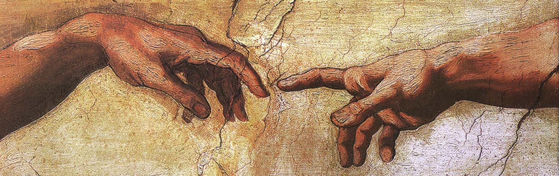 Sistine Chapel Adam An...