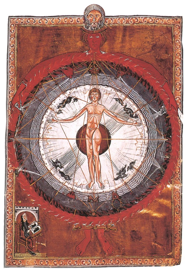 Hildegard von Bingen Liber Divinorum OperumImage from Wikimedia Commons