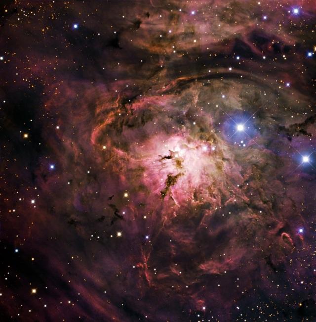 Lagoon Nebula Image from Wikimedia Commons