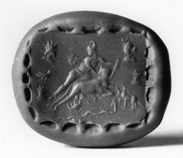 Roman Amulet with Mithras and AbraxasImage from Wikimedia Commons