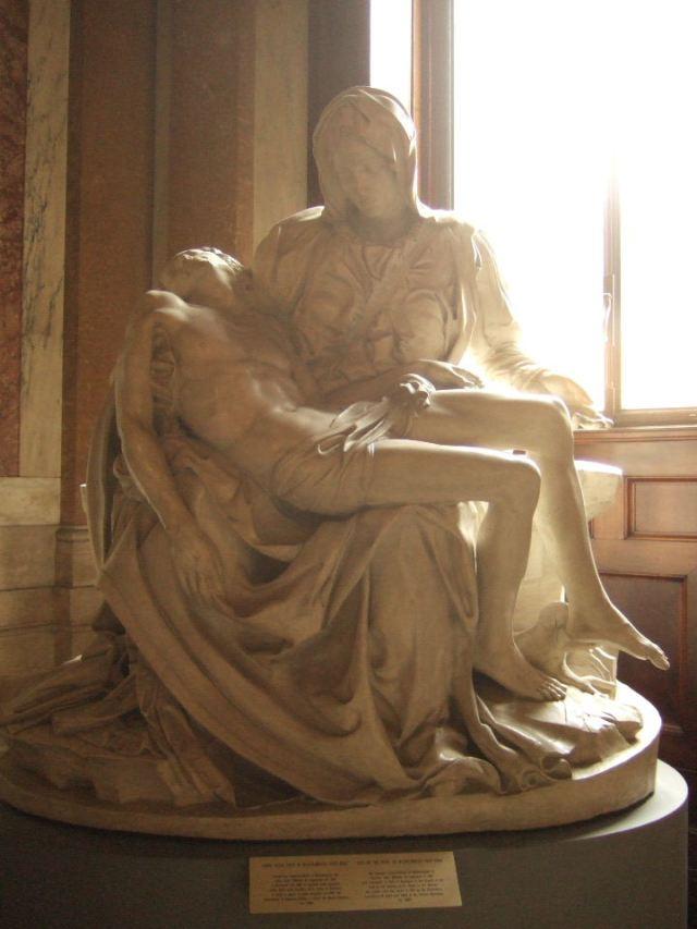 Pieta by MichelangeloImage by Wikimedia Commons