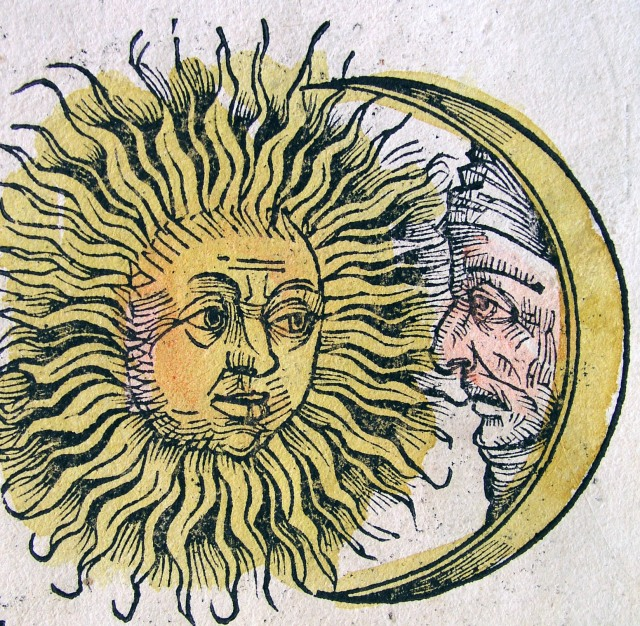 Sun and Moon Image from Wikimedia