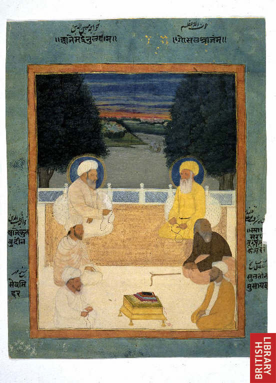 Six Sufi Masters Image from Wikimedia Commons