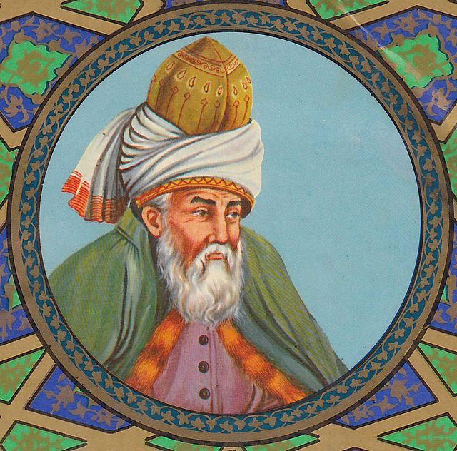 Rumi from Wikimedia Commons