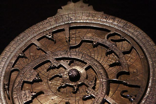 Moroccan Astrolabe From Wikimedia