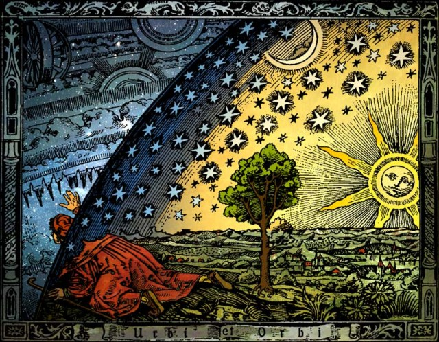 Flammarion's Universum Courtesy Wikimedia Commons